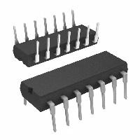 74AC02B ST意法半导体 IC GATE NOR 4CH 2-INP 14-DIP